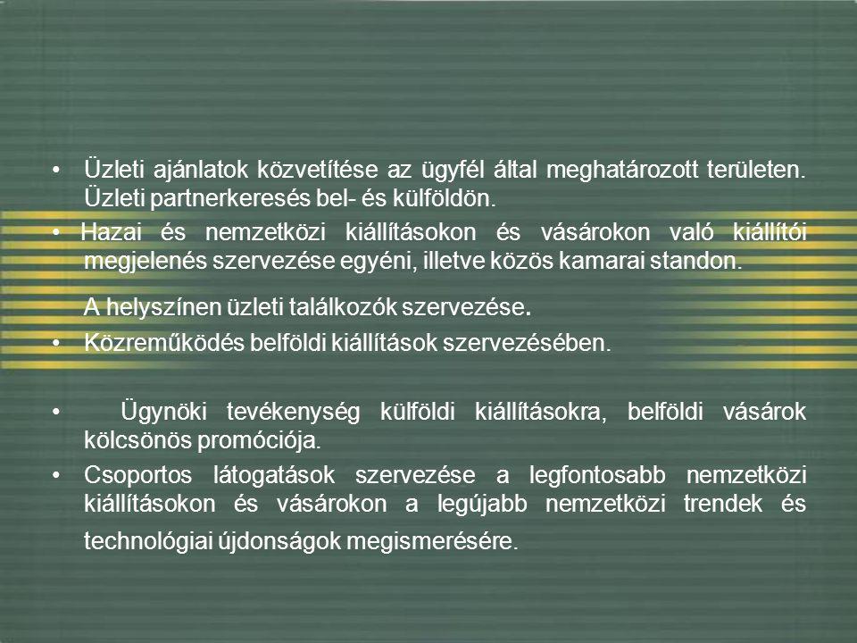 A Magyar Kereskedelmi és Iparkamara Magyar –Román Tagozat 2016.