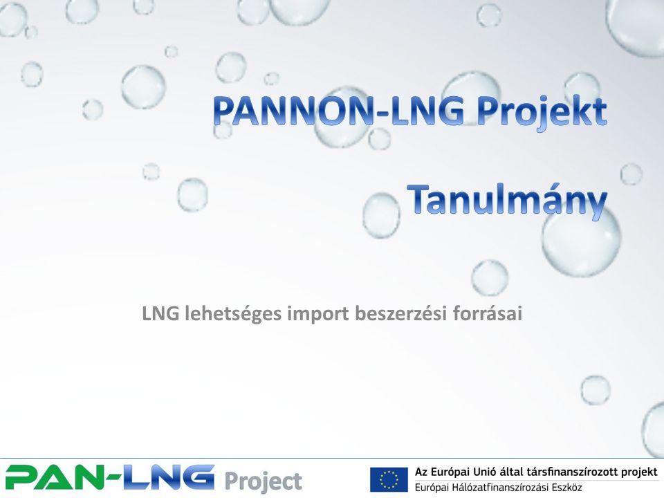 LNG lehetséges import beszerzési forrásai