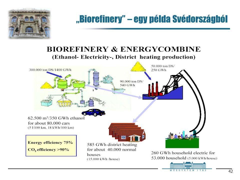 """42 """"Biorefinery – egy példa Svédországból"""