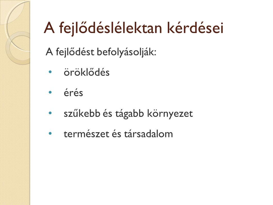 Csíralemezek Külső(ectoderma)- velőcső: bőr hámja és tartozékai (szőr, verejték-, faggyúmirigy), idegrendszer (agy, gerincvelő, idegek) látás, hallás Középső(mesoderma)- gerinchúr: csontváz, minden kötőszövet, szív, erek, vér, vese, húgyhólyag, izom (sima-, harántcsíkolt), hasüreg, mellüreg burkai, szívburkok Belső(entoderma)- elemi bélcső: tápcsatorna- légzőszervek hámja, máj, hasnyálmirigy