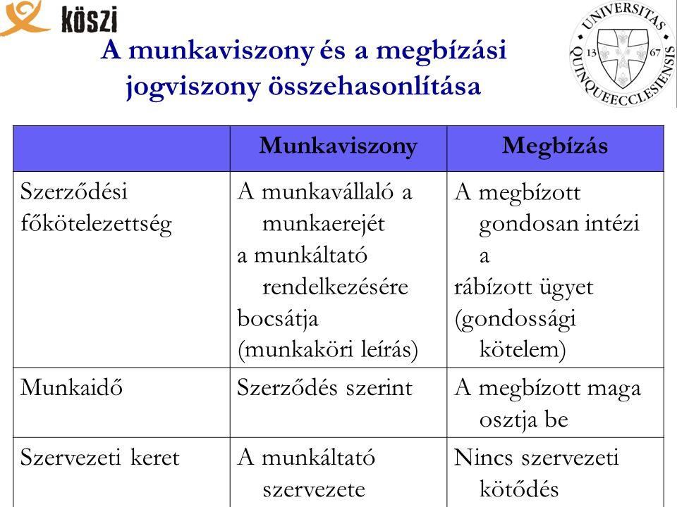 Az irányelvek 3 fő területet ölelnek fel: 1.