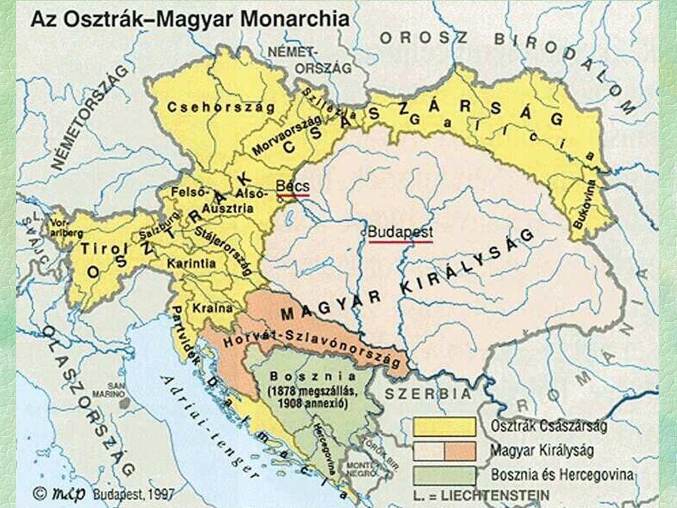 A háború kirobbanása  OMM ultimátuma Szerbiának  elutasítás  hadüzenet  Lelkesedés, nemzeti érzés fellángolása  Szerbiát meg kell büntetni  Előjelek a háborúhoz  Dualizmus fejlődés dinamikus  de gazdaságilag még nem érte be Nyugat-Európát  Torlódó, vagy kettős társadalmi struktúra  nem a legjobb előjelek a háborúhoz Tisza István miniszterelnök