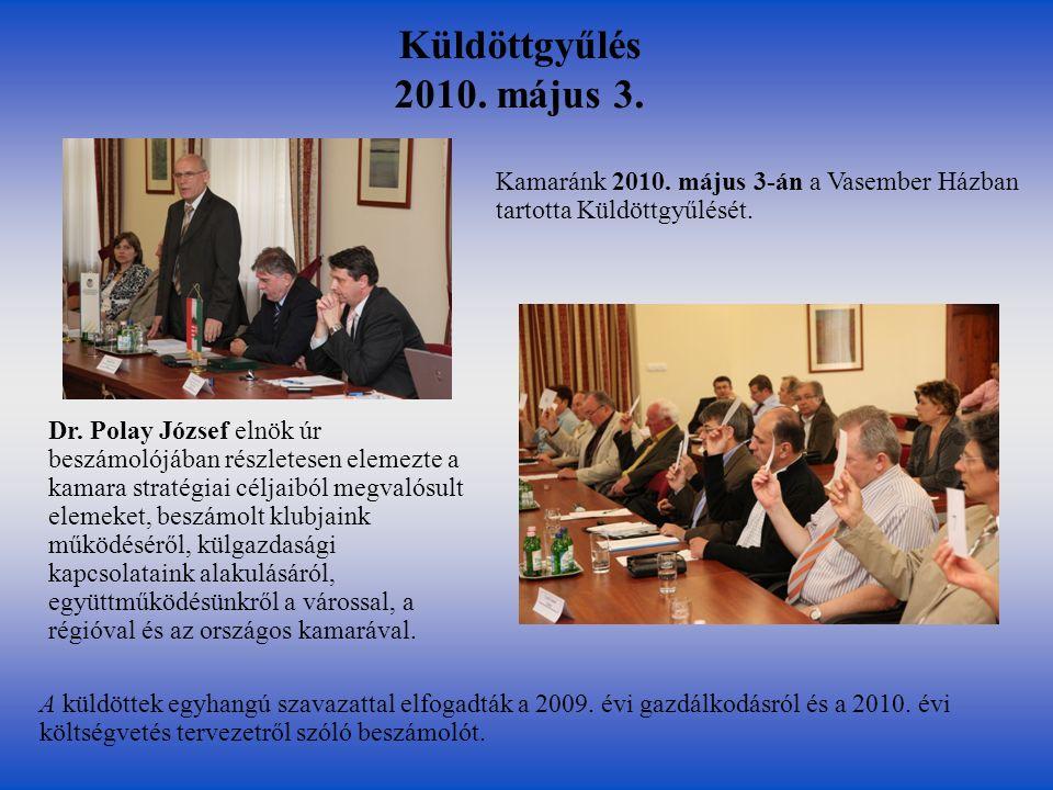 Vizsgabizottsági elnökök és tagok továbbképzése 2011.