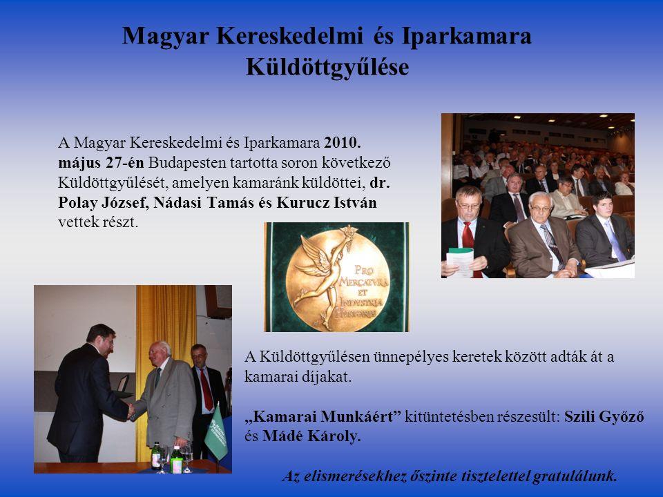 Köszönöm megtisztelő figyelmüket! dr. Polay József elnök Nagykanizsa, 2011. 05. 24