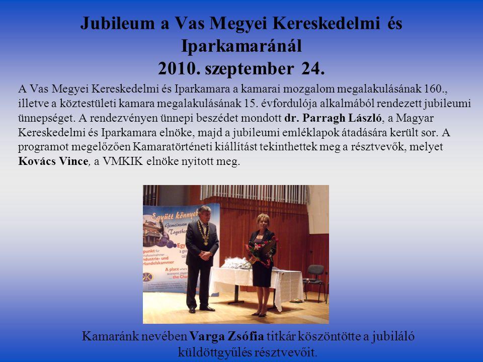 A Kormány és az MKIK együttműködési megállapodása 2010.