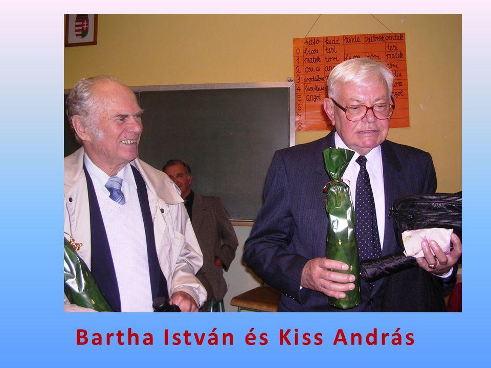 Bartha István és Kiss András