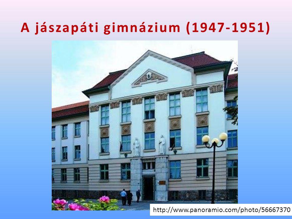 A jászapáti gimnázium (1947-1951) http://www.panoramio.com/photo/56667370