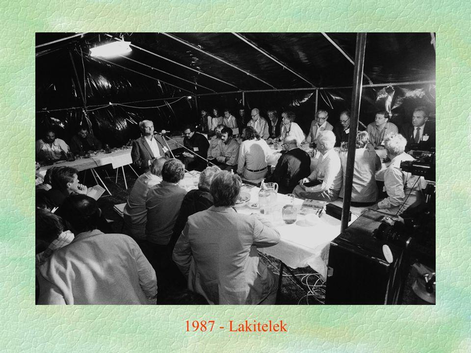 1987 - Lakitelek