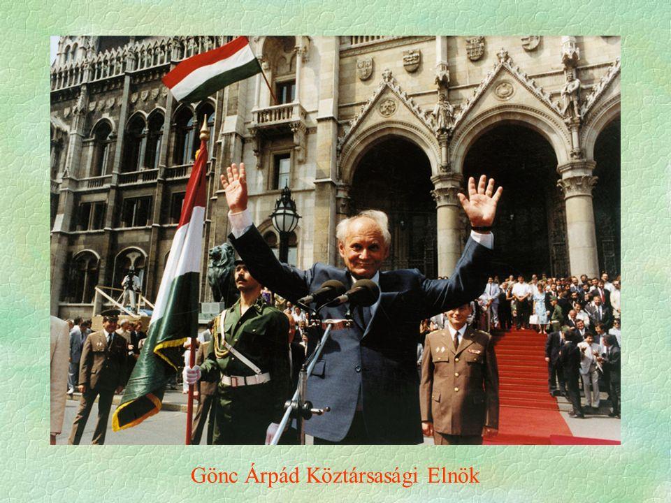 Gönc Árpád Köztársasági Elnök