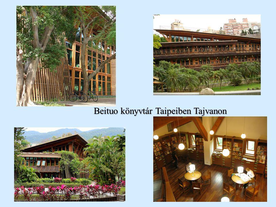 Beituo könyvtár Taipeiben Tajvanon