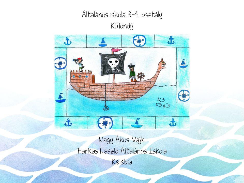 Általános iskola 3-4. osztály Különdíj Nagy Ákos Vajk Farkas László Általános Iskola Kelebia