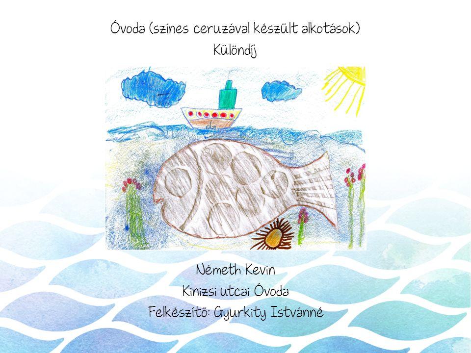 Óvoda (színes ceruzával készült alkotások) Különdíj Németh Kevin Kinizsi utcai Óvoda Felkészítő: Gyurkity Istvánné