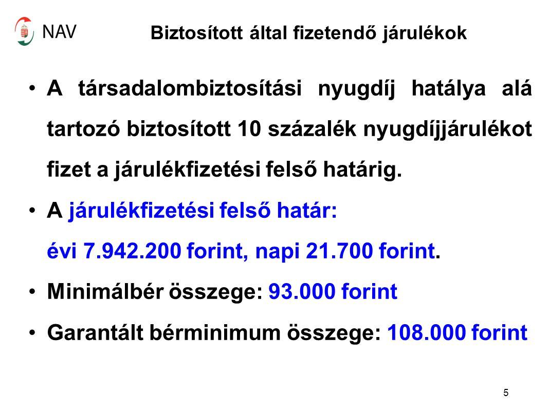 Egészségügyi hozzájárulás Az Szja tv.70.