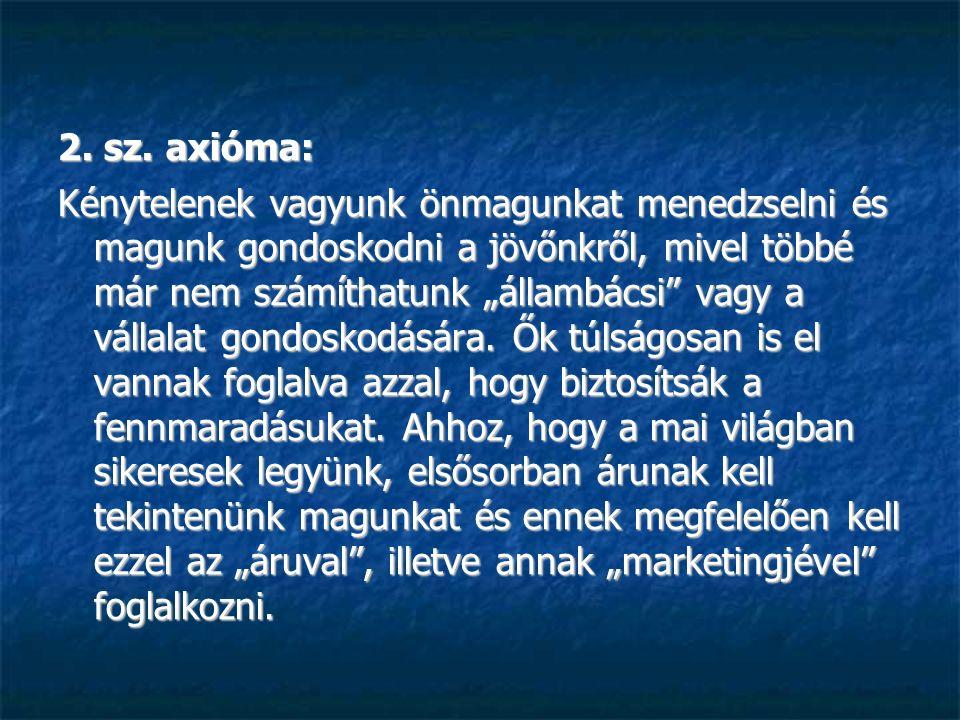 2. sz. axióma: 2. sz.