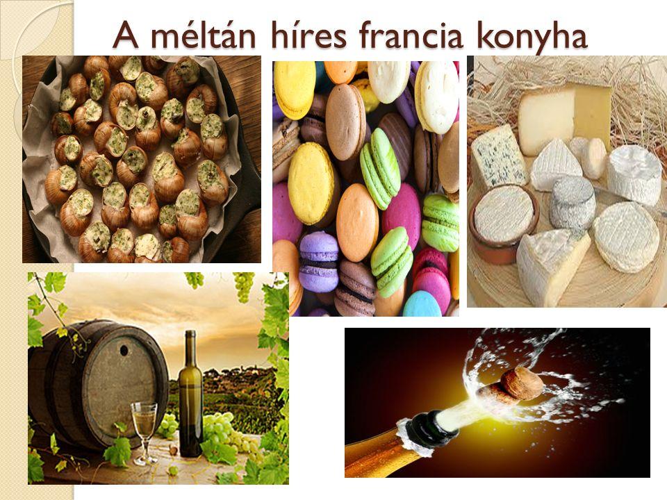 A méltán híres francia konyha