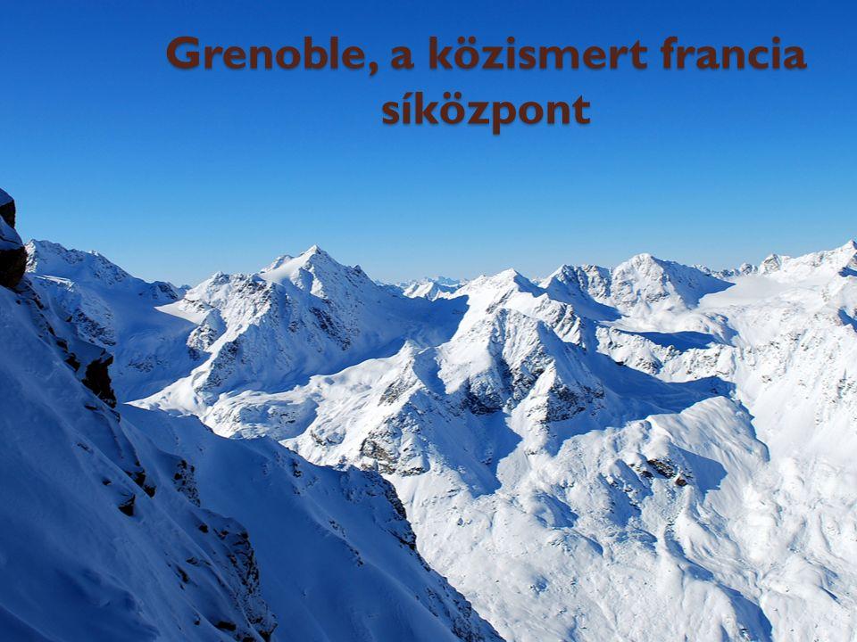 Grenoble, a közismert francia síközpont