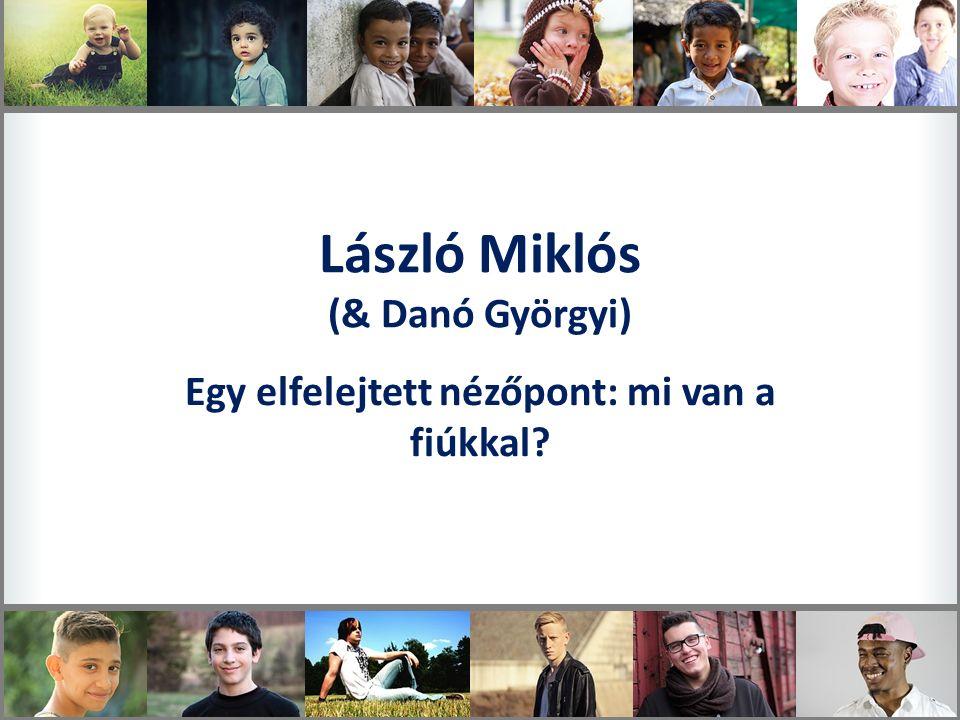 László Miklós (& Danó Györgyi) Egy elfelejtett nézőpont: mi van a fiúkkal