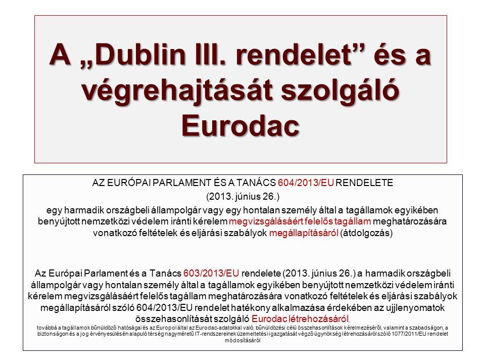 """A """"Dublin III."""