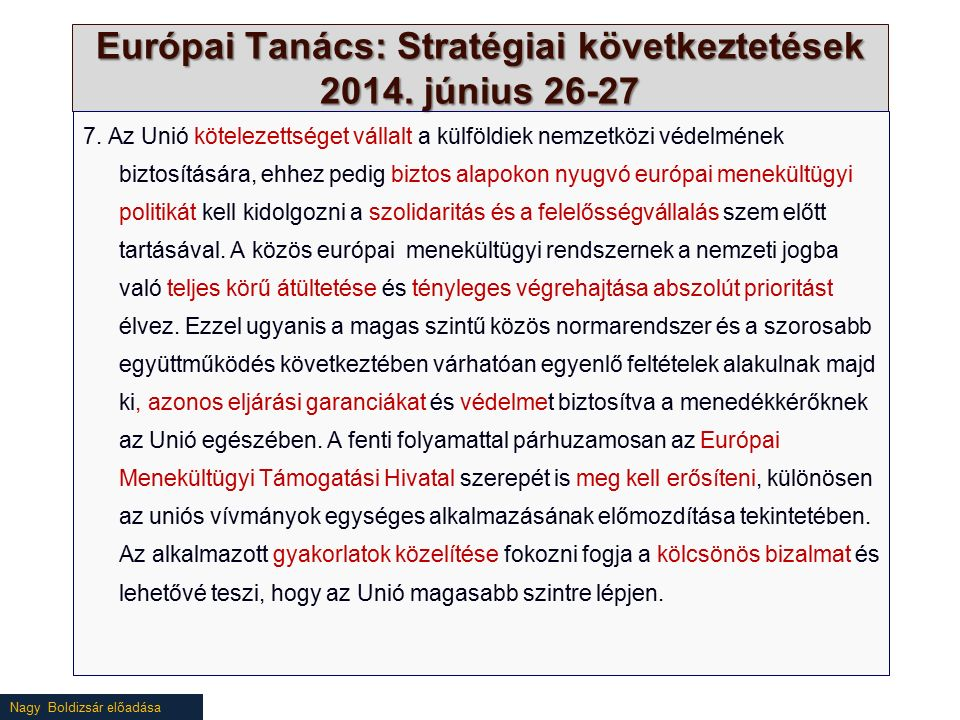 Nagy Boldizsár előadása A szolidaritás (hiánya) a gyakorlatban Source: http://ec.europa.eu/dgs/home-affairs/what-we-do/policies/european-agenda-migration/press-material/docs/state_of_play_-_member_state_pledges_en.pdf (20160329)http://ec.europa.eu/dgs/home-affairs/what-we-do/policies/european-agenda-migration/press-material/docs/state_of_play_-_member_state_pledges_en.pdf