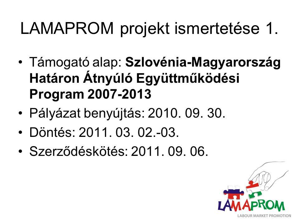 LAMAPROM projekt ismertetése 1.