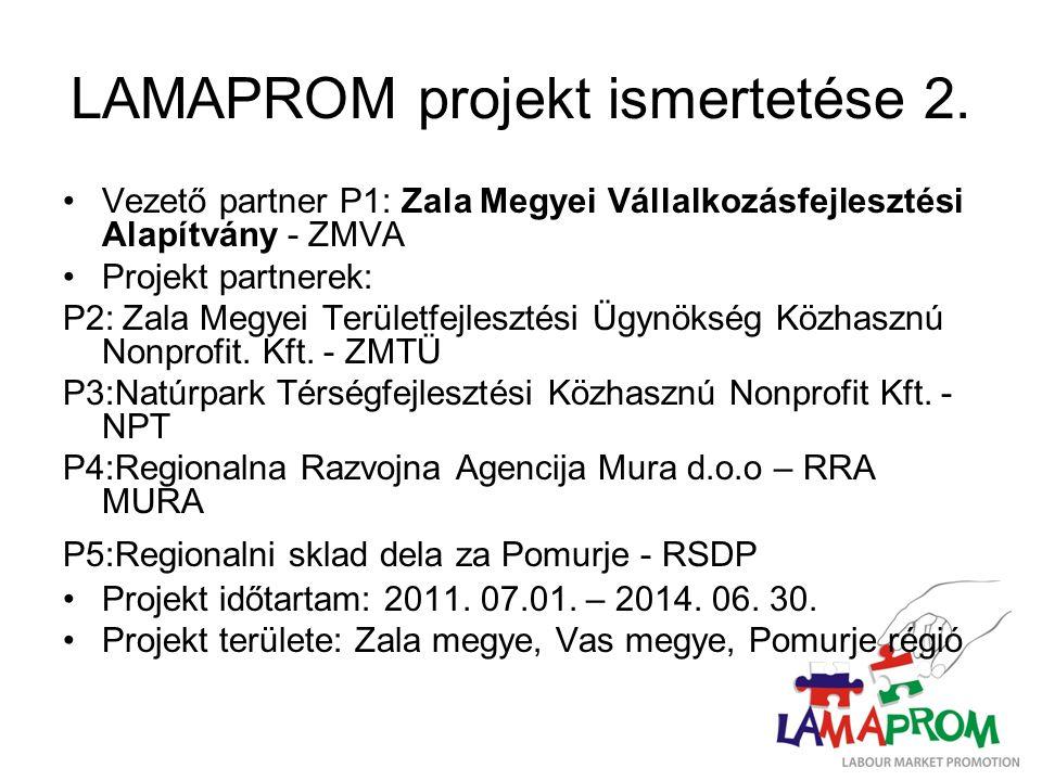 LAMAPROM projekt ismertetése 2.