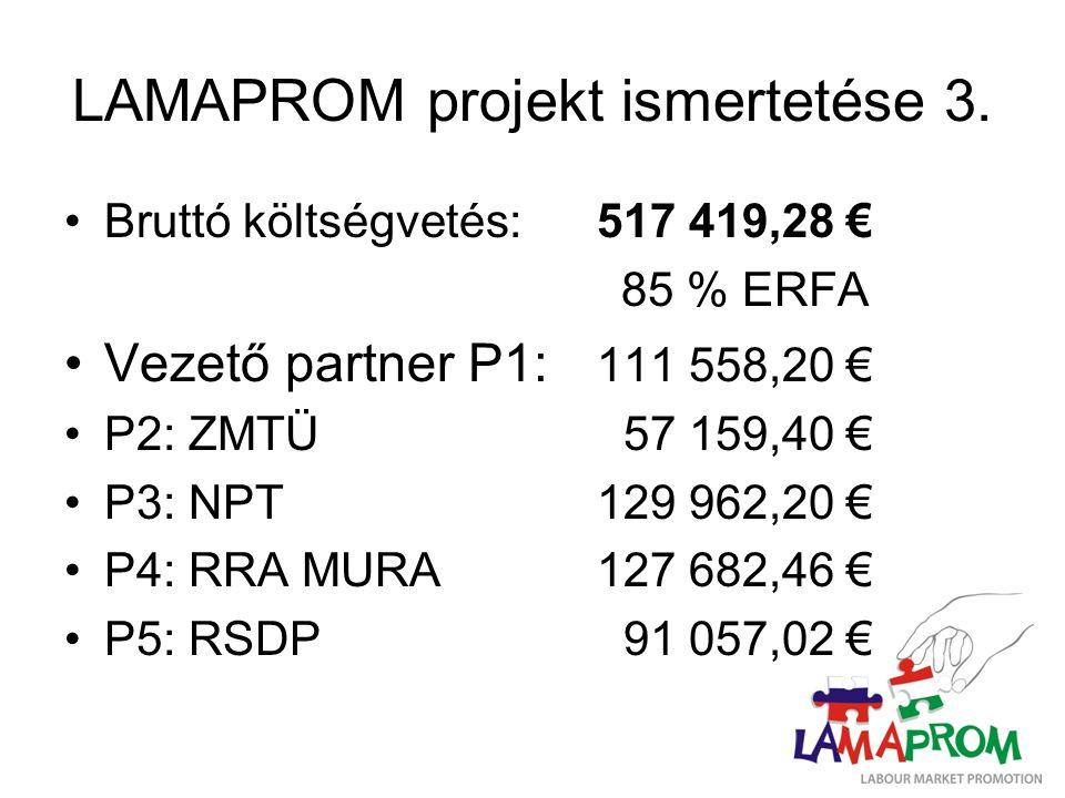 LAMAPROM projekt ismertetése 3.