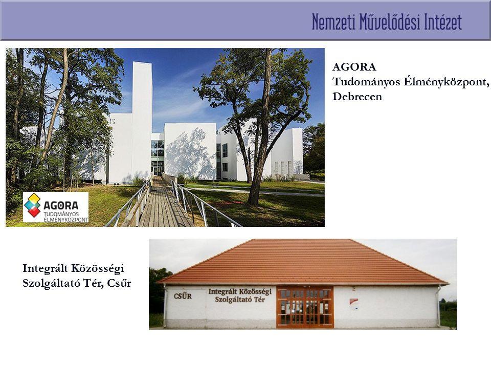 AGORA Tudományos Élményközpont, Debrecen Integrált Közösségi Szolgáltató Tér, Csűr