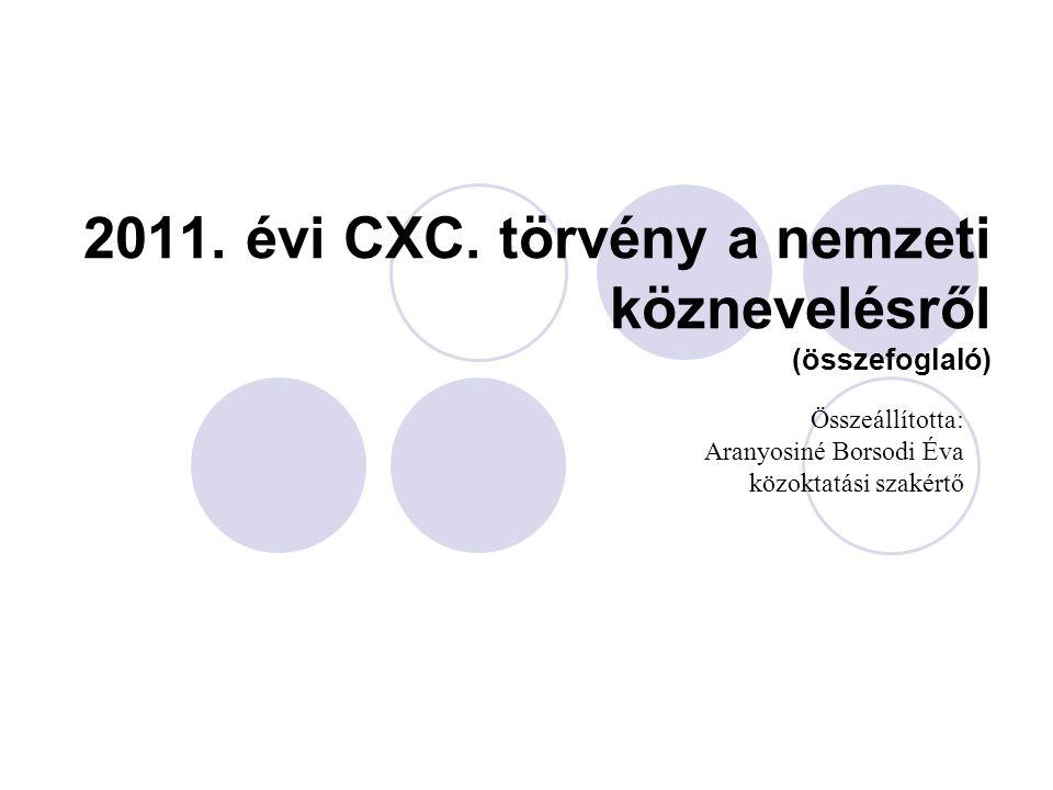 Hatályossá válik - 2012.szeptember 1.- 2013.január 1.