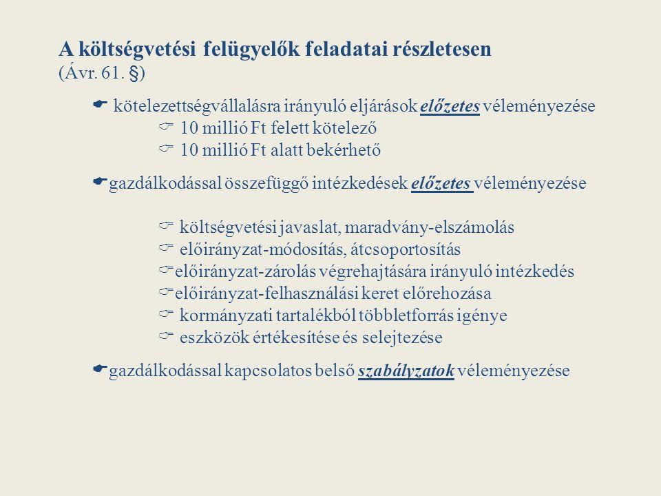 A felügyelt felsőoktatási intézmények:  Debreceni Egyetem (59,8 Mrd Ft)  Egyetem döntéshozó fórumain való részvétel  a Klinikai Központ tartozásának csökkentésére bevezetett intézkedések lassan hozzák az eredményt, beruházások halasztása 1 md Ft  70 Md kiadási főösszeghez 1-2 Md adósság menedzselhető  Kaposvári Egyetem (8,5 Mrd Ft )  Egyetem likviditásának, adósságállományának javulásában közreműködés  a kiadások visszafogás főfelügyelői vezetéssel  2014-ben a pénzügyi rendszer stabilitását kellett tartani olyan helyzetekben, amelyeket változó környezet, egyenetlen bevétel is jellemzett