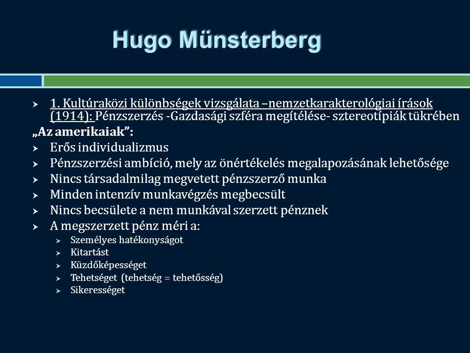 Hugo Münsterberg  1.