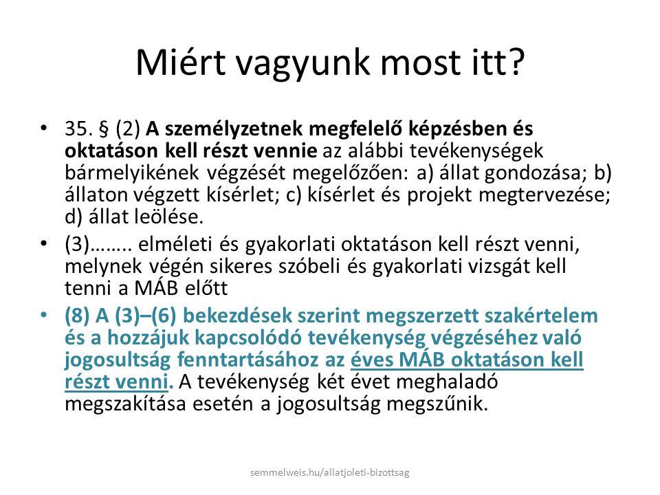Mi a MÁB és mi a szerepe??.MÁB = Munkahelyi Állatjóléti Bizottság A 40/2013.