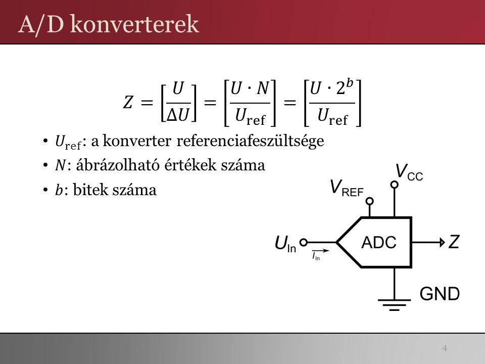 A/D konverterek 4