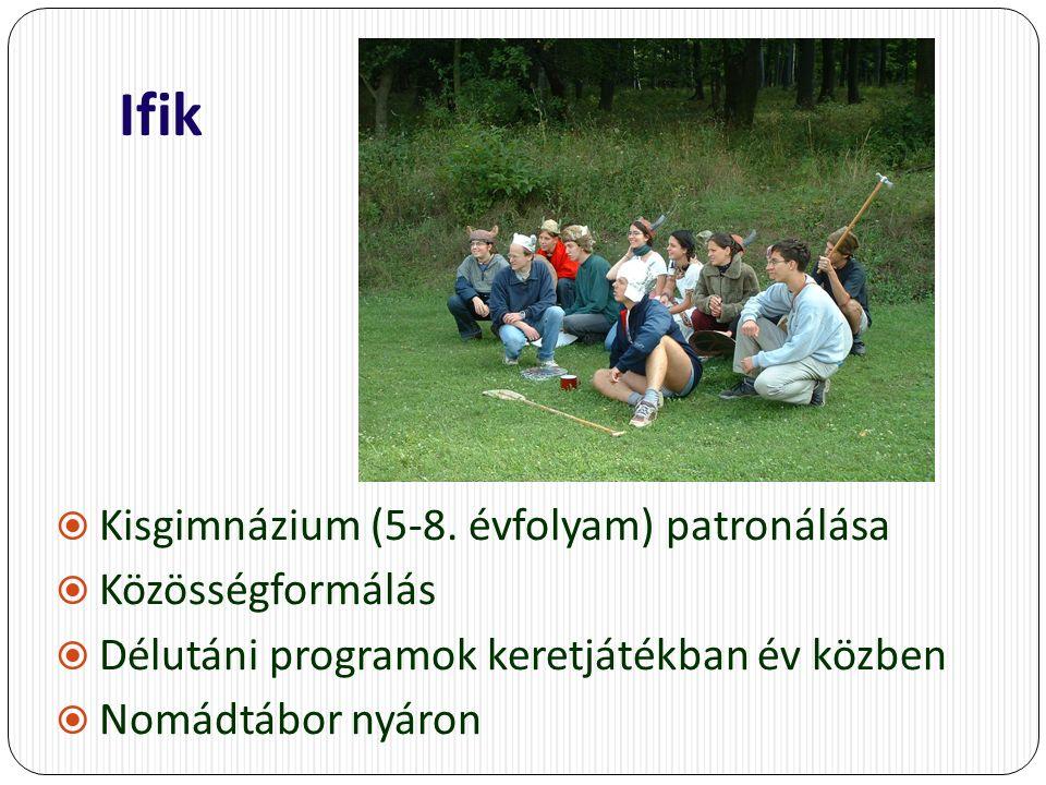 Ifik  Kisgimnázium (5-8.