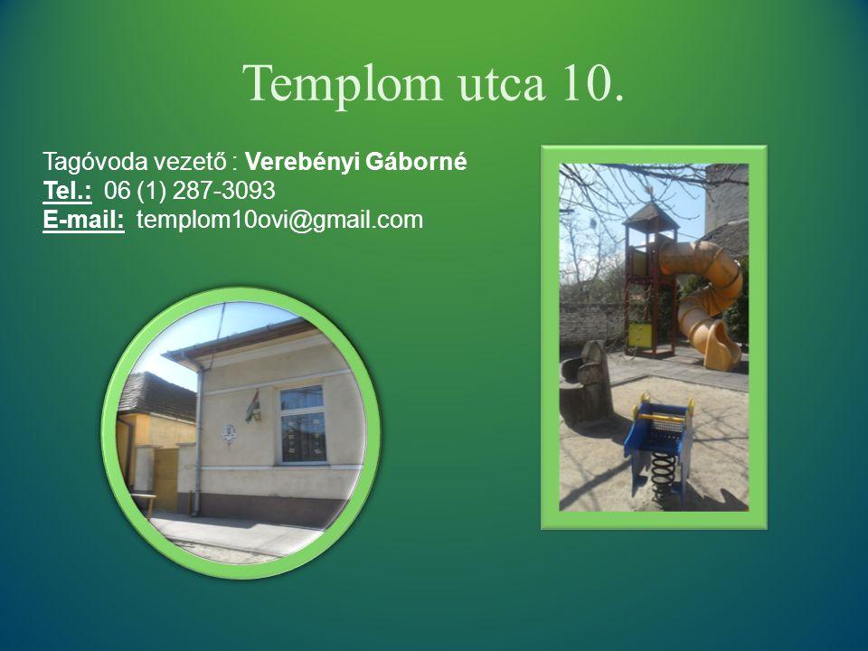 Templom utca 10.