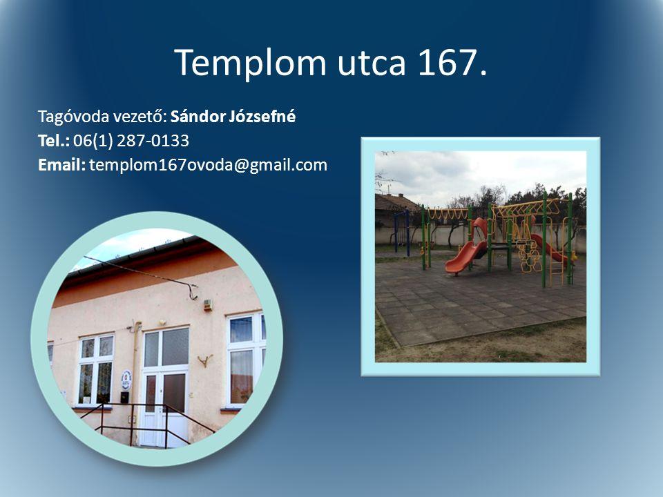 Templom utca 167.