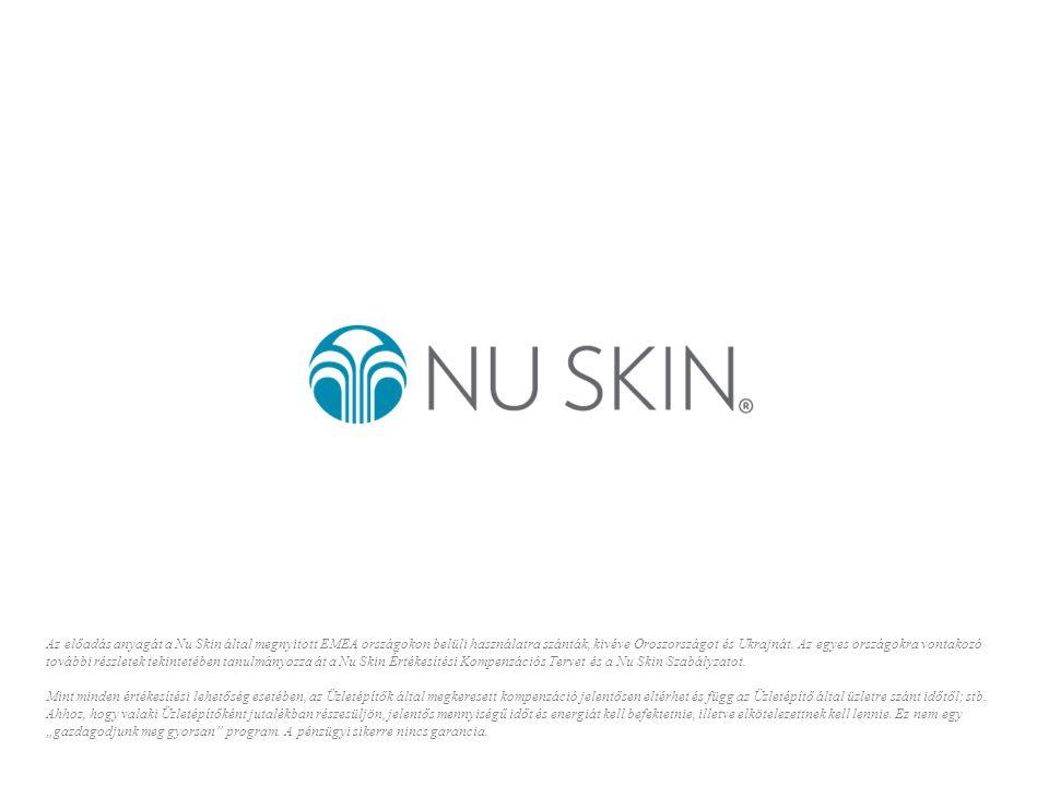 Az előadás anyagát a Nu Skin által megnyitott EMEA országokon belüli használatra szánták, kivéve Oroszországot és Ukrajnát.