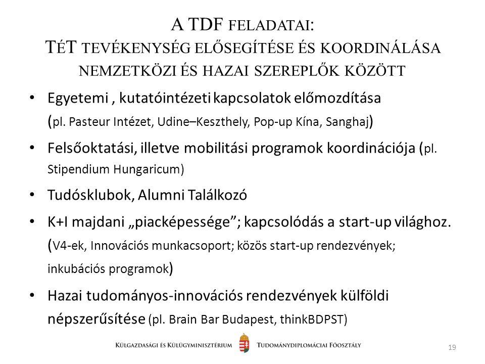 Egyetemi, kutatóintézeti kapcsolatok előmozdítása ( pl.