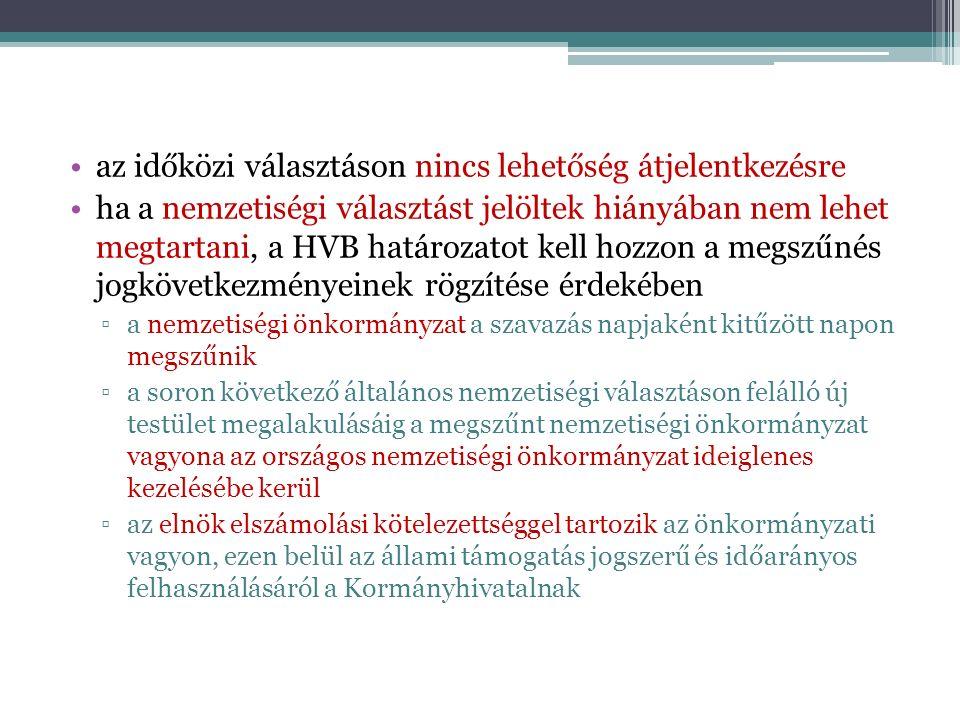 Általános információk Ve.módosítása folyamatban Népszavazási tv.