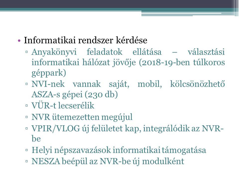 Időközi választások pénzügyi feladatai 7/2014.(XI.