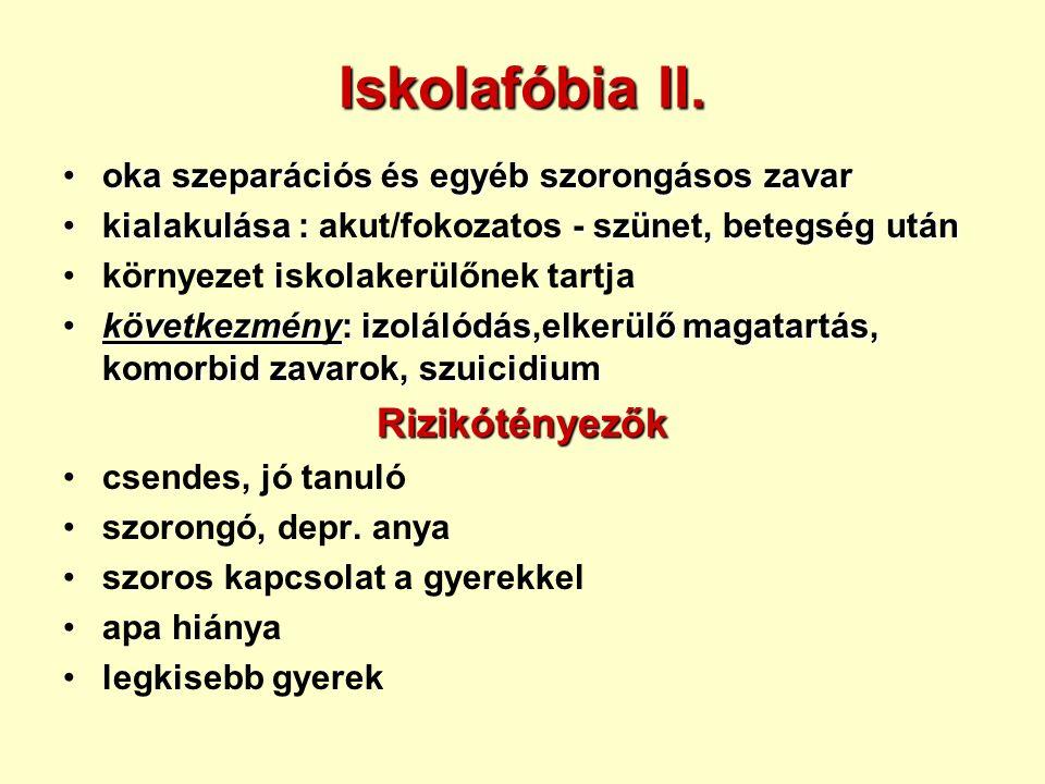Iskolafóbia II.
