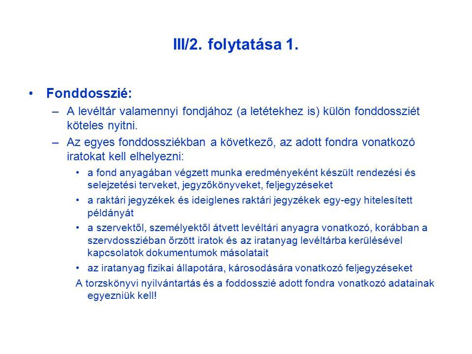 III/2. folytatása 1.