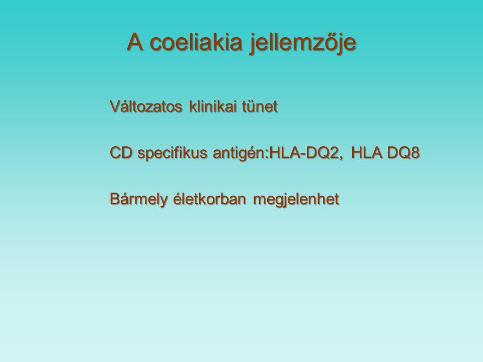 Coeliakia betegség definíciója Immunmediált szisztemás megbetegedés glutén, illetve ennek prolamin tartalmára genetikailag érzékeny szervezetben.