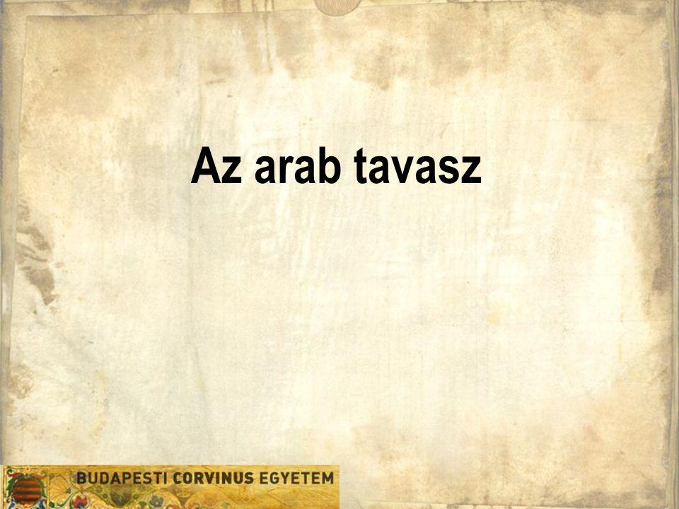 Az arab tavasz