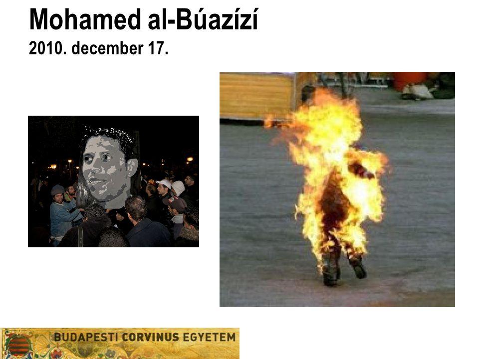 Mohamed al-Búazízí 2010. december 17.