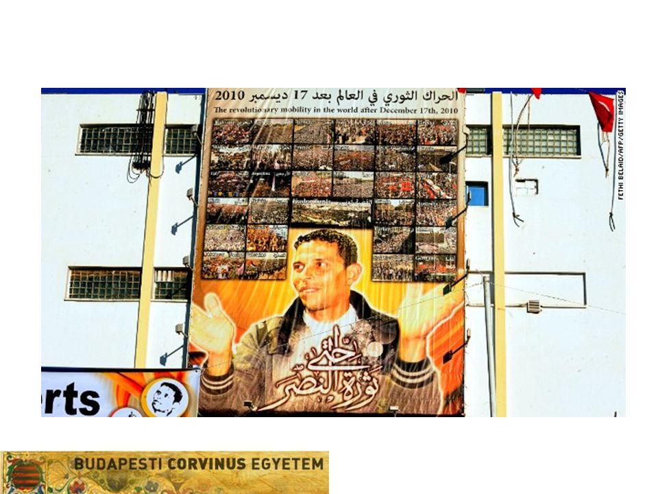 Félrevezető elnevezés  Európai konnotáció, európai analógiák –Téves univerzalizmus (Közel-Kelet – Nyugat) –Népek tavasza, prágai tavasz stb –Fiatalok, szekuláris demokraták –Szupermodern kommunikációs technológiák –(európai) demokrácia –Arab politikaelmélet: faszád (korrupció), fitna (romlás, kísértés)