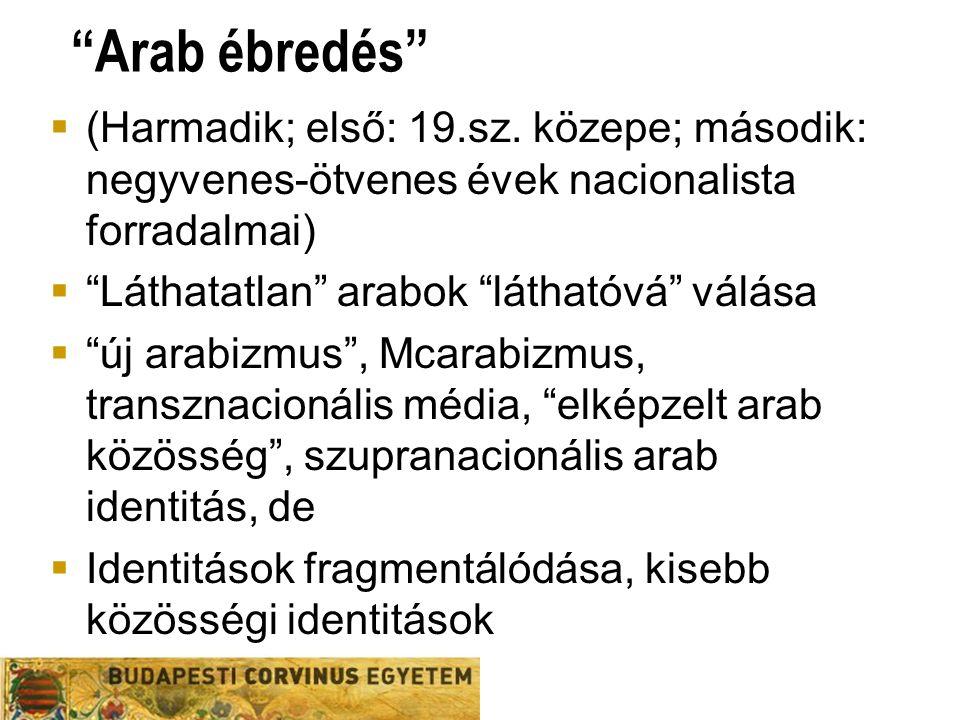 Arab ébredés  (Harmadik; első: 19.sz.