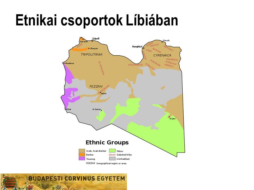Etnikai csoportok Líbiában