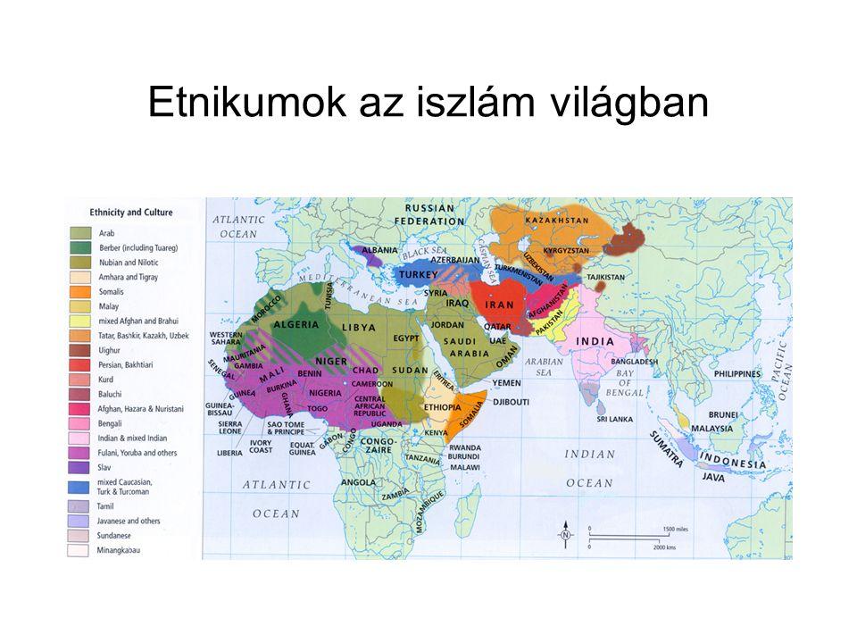 Etnikumok az iszlám világban