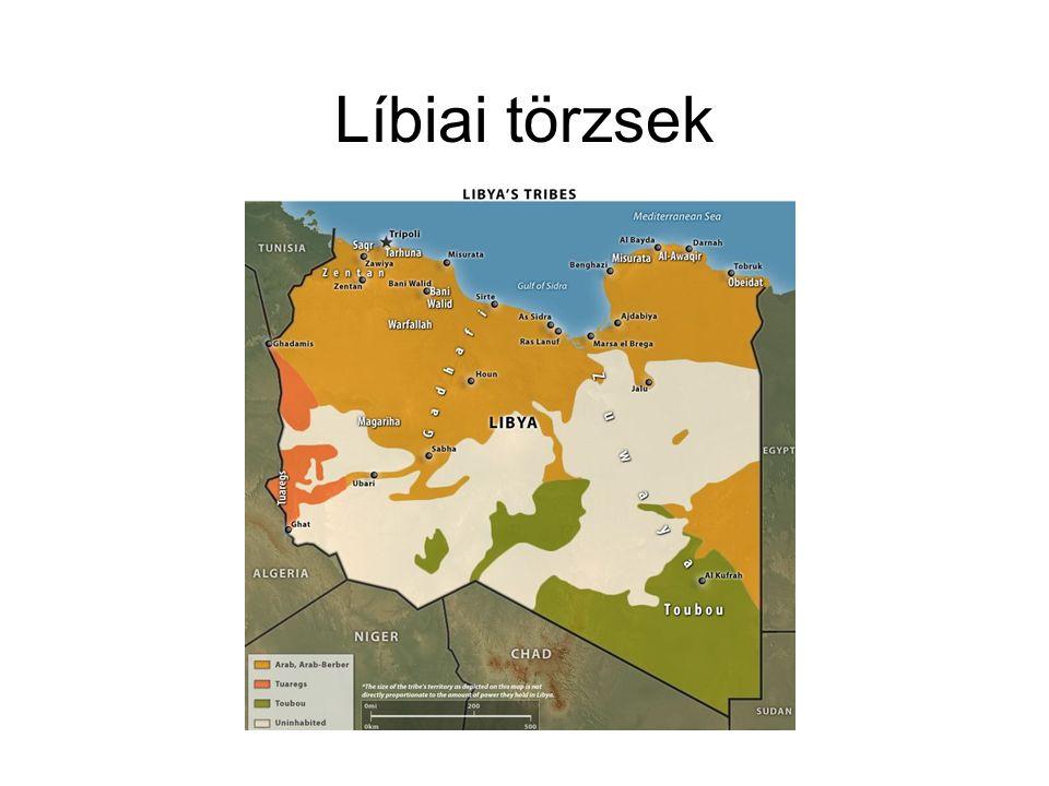 Líbiai törzsek