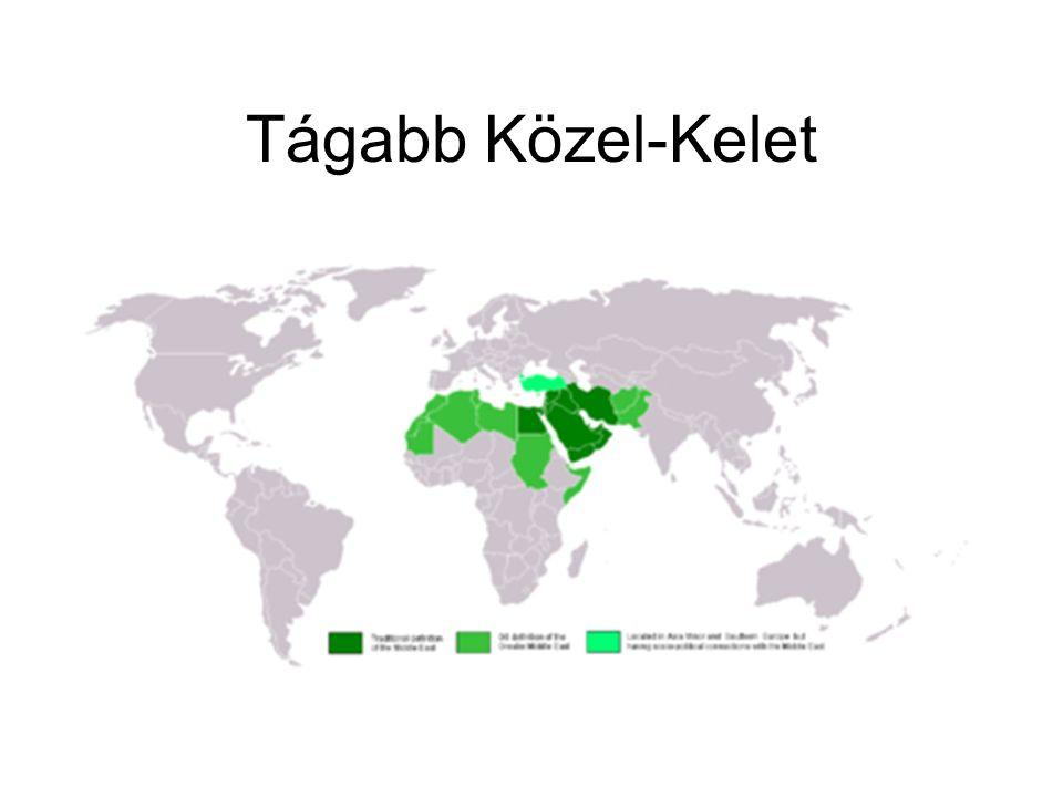 Tágabb Közel-Kelet
